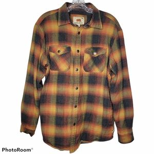 Dakota Grizzly Plaid flannel shirt Jacket Shacket